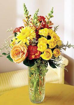 Kastamonu 14 şubat sevgililer günü çiçek  mika yada cam içerisinde karisik mevsim çiçekleri