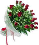 Kastamonu internetten çiçek satışı  11 adet kirmizi gül buketi sade ve hos sevenler