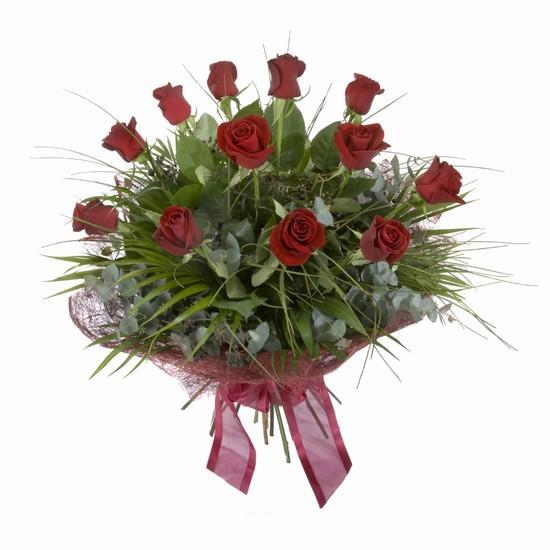 Etkileyici buket 11 adet kirmizi gül buketi  Kastamonu internetten çiçek satışı