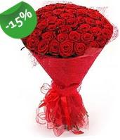 51 adet kırmızı gül buketi özel hissedenlere  Kastamonu çiçek siparişi sitesi