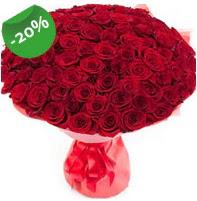 Özel mi Özel buket 101 adet kırmızı gül  Kastamonu anneler günü çiçek yolla