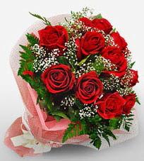 12 adet kırmızı güllerden kaliteli gül  Kastamonu çiçek siparişi vermek