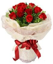 12 adet kırmızı gül buketi  Kastamonu anneler günü çiçek yolla