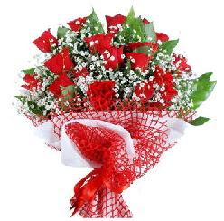 11 kırmızı gülden buket  Kastamonu 14 şubat sevgililer günü çiçek