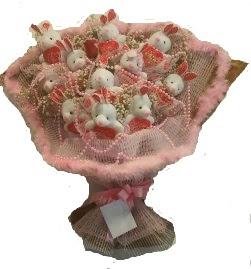 12 adet tavşan buketi  Kastamonu çiçek mağazası , çiçekçi adresleri