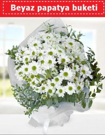 Beyaz Papatya Buketi  Kastamonu 14 şubat sevgililer günü çiçek