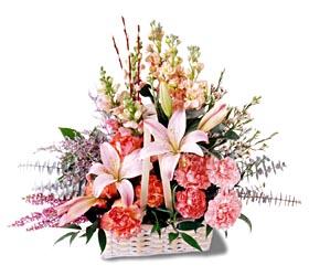 Kastamonu çiçek siparişi sitesi  mevsim çiçekleri sepeti özel tanzim