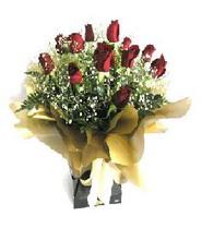 Kastamonu internetten çiçek siparişi  11 adet kirmizi gül  buketi