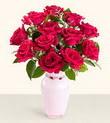 Kastamonu hediye çiçek yolla  10 kirmizi gül cam yada mika vazo tanzim