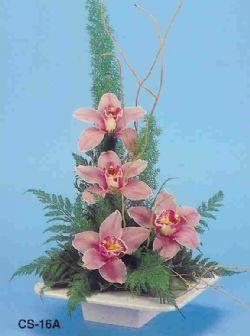 Kastamonu çiçekçi telefonları  vazoda 4 adet orkide