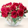 Kastamonu çiçek online çiçek siparişi  mika yada cam içerisinde 10 gül - sevenler için ideal seçim -