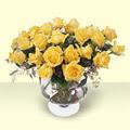 Kastamonu çiçekçi telefonları  11 adet sari gül cam yada mika vazo içinde