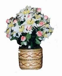 yapay karisik çiçek sepeti   Kastamonu çiçek servisi , çiçekçi adresleri