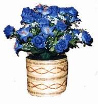 yapay mavi çiçek sepeti  Kastamonu cicekciler , cicek siparisi