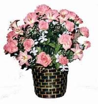 yapay karisik çiçek sepeti  Kastamonu çiçek online çiçek siparişi