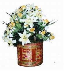 yapay karisik çiçek sepeti   Kastamonu cicekciler , cicek siparisi