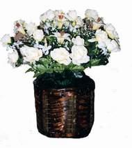yapay karisik çiçek sepeti   Kastamonu cicek , cicekci