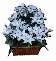 yapay karisik çiçek sepeti   Kastamonu online çiçek gönderme sipariş