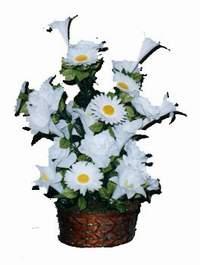 yapay karisik çiçek sepeti  Kastamonu çiçek siparişi vermek