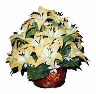 yapay karisik çiçek sepeti   Kastamonu çiçek siparişi sitesi
