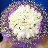 71 adet beyaz gül buketi   Kastamonu çiçek , çiçekçi , çiçekçilik