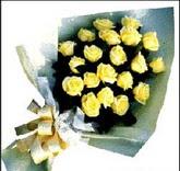 sari güllerden sade buket  Kastamonu çiçek , çiçekçi , çiçekçilik