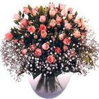 büyük cam fanusta güller   Kastamonu çiçek yolla
