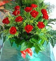 12 adet gül buketi  Kastamonu anneler günü çiçek yolla