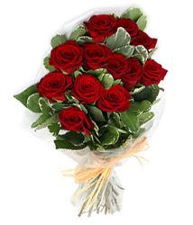 Kastamonu çiçek yolla , çiçek gönder , çiçekçi   9 lu kirmizi gül buketi.