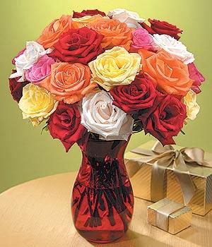 Kastamonu anneler günü çiçek yolla  13 adet renkli gül