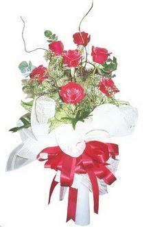 Kastamonu çiçek siparişi sitesi  7 adet kirmizi gül buketi
