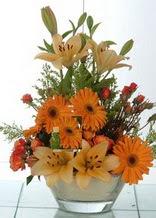 Kastamonu çiçek servisi , çiçekçi adresleri  cam yada mika vazo içinde karisik mevsim çiçekleri