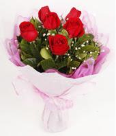 9 adet kaliteli görsel kirmizi gül  Kastamonu çiçek gönderme