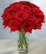Kastamonu çiçek siparişi sitesi  Sevdiklerinize özel ürün 12 adet cam içerisinde kirmizi gül  Kastamonu hediye çiçek yolla
