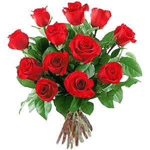 11 adet bakara kirmizi gül buketi  Kastamonu güvenli kaliteli hızlı çiçek