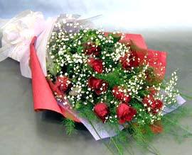 10 adet kirmizi gül çiçegi gönder  Kastamonu anneler günü çiçek yolla