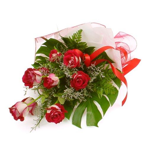 çiçek gönder 7 adet kirmizi gül buketi  Kastamonu kaliteli taze ve ucuz çiçekler