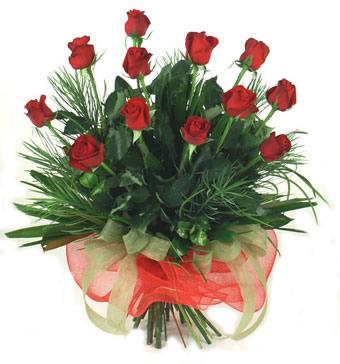 Çiçek yolla 12 adet kirmizi gül buketi  Kastamonu güvenli kaliteli hızlı çiçek