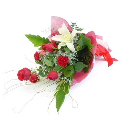 Mevsim çiçeklerinden karisik buket  Kastamonu cicek , cicekci