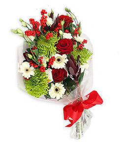 Karisik mevsim buketi çiçek tanzimi  Kastamonu internetten çiçek siparişi