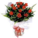 Kastamonu çiçek , çiçekçi , çiçekçilik  9 adet güzel bir gül buketi