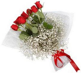7 adet essiz kalitede kirmizi gül buketi  Kastamonu hediye sevgilime hediye çiçek