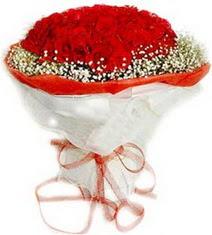 Kastamonu çiçekçiler  41 adet kirmizi gül buketi