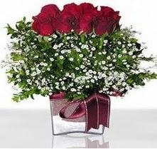 Kastamonu internetten çiçek satışı  mika yada cam vazo içerisinde 7 adet gül