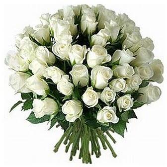 Kastamonu çiçek servisi , çiçekçi adresleri  33 adet beyaz gül buketi