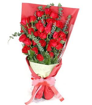 Kastamonu çiçek gönderme  37 adet kırmızı güllerden buket