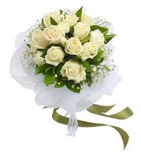 Kastamonu online çiçekçi , çiçek siparişi  11 adet benbeyaz güllerden buket