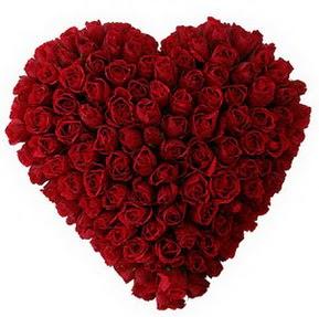 Kastamonu çiçekçi mağazası  muhteşem kırmızı güllerden kalp çiçeği