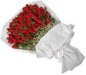 Kastamonu İnternetten çiçek siparişi  51 adet kırmızı gül buket çiçeği