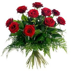 Kastamonu çiçek gönderme  10 adet kırmızı gülden buket